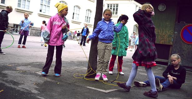 Finnish Schoolchildren